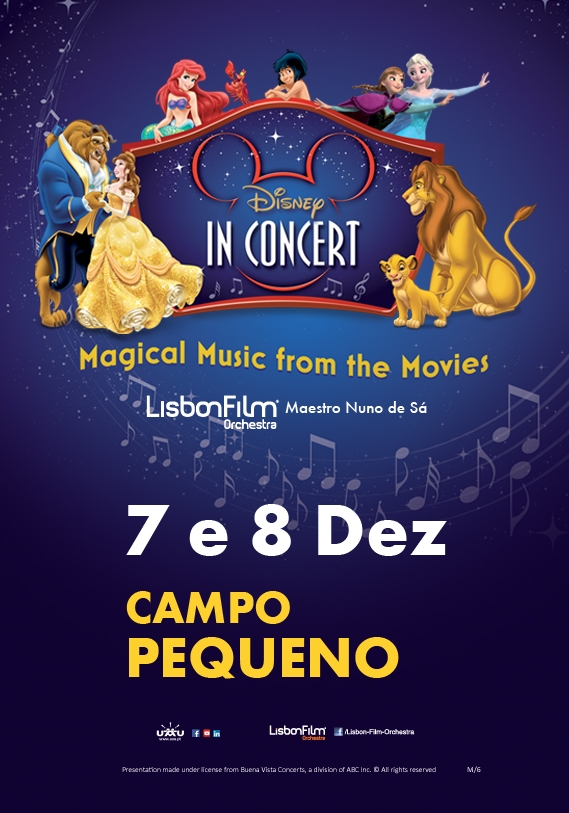 DISNEY IN CONCERT CAMPO PEQUENO