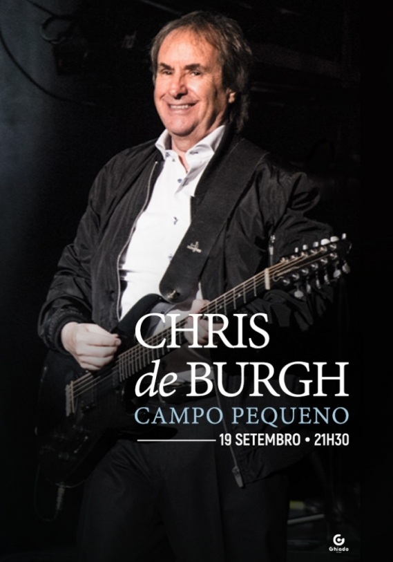 Cartaz Chris de Burgh